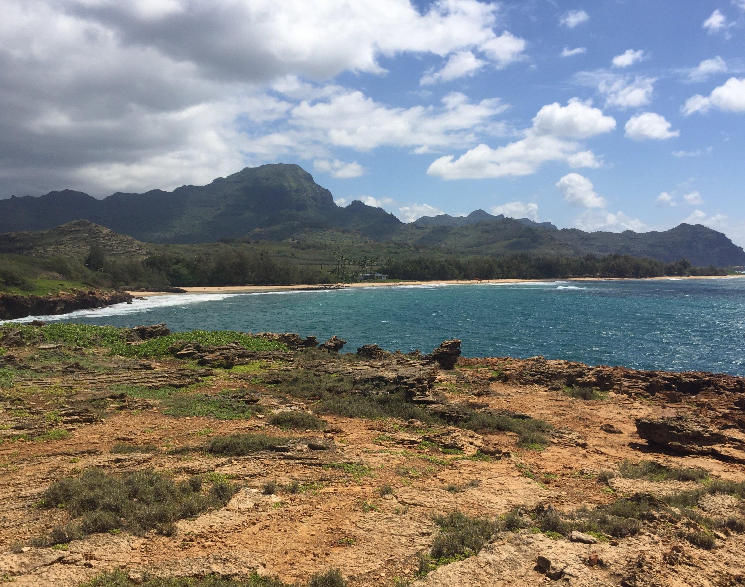 Shipwreck Beach, Kauai Hawaii